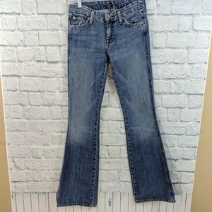 7FAM A Pocket Flare Jeans - Size 25